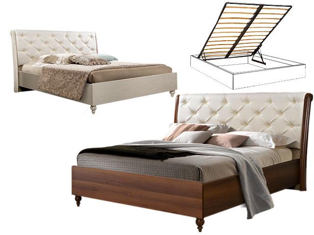 Кровать 2-х спальная (1,6 м) с под/мех