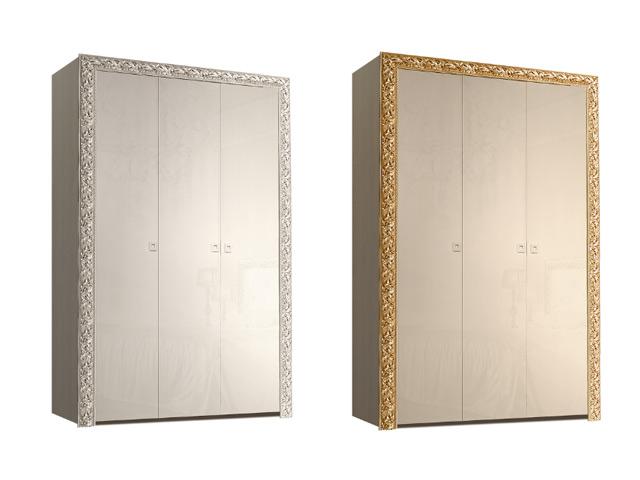 . Шкаф 3-х дв. для платья и белья (без зеркал).