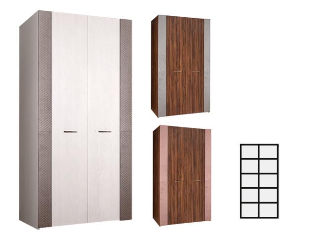 Шкаф 2-х дв. для платья и белья