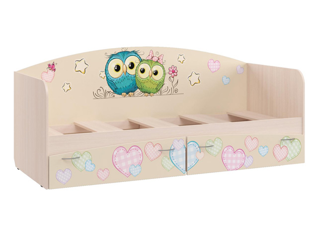 Кровать для детской Кр-1 (УФ) с основанием