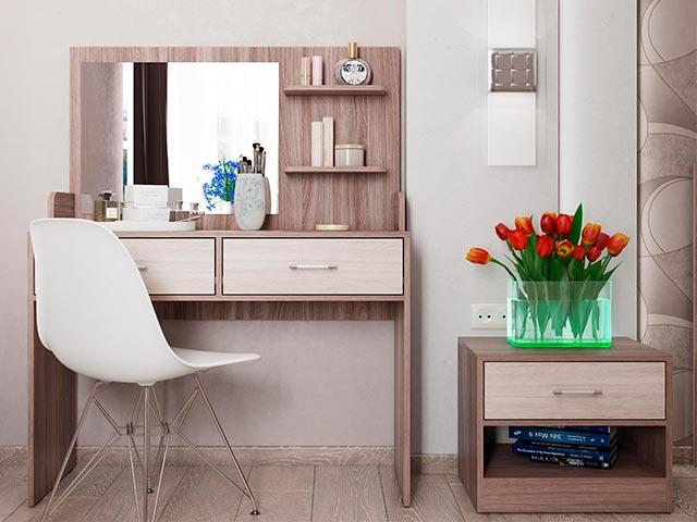 СТ-2 Стол туалетный с зеркалом