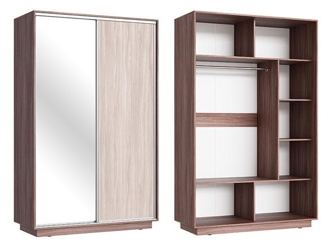 Шкаф - купе (ЛДСП+зеркало)