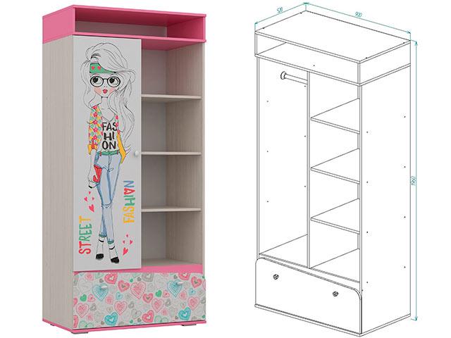 Шкаф для детской 2