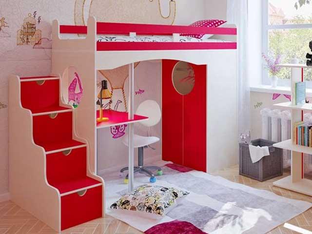 Кровати-чердаки и детские комплексы