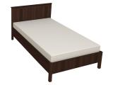 44 Кровать б/орт 1200 (орех шоколадный)
