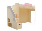 Кровать второй ярус с лестницей