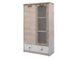 Шкаф с витриной 1V1D1SL/D2