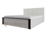 Кровать двойная (универсальная) с мягким изголовьем 1600
