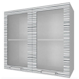 04_13 шкаф навесной L800 H720 (2 дв. рамка)