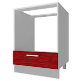 04_39 шкаф рабочий под духовку L600 (1 дв. глух.)