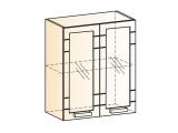 Шкаф навесной L600 Н720 (2дв.рам.)
