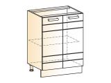 Шкаф рабочий L600 (2дв.гл.)