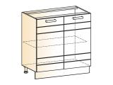 Шкаф рабочий L800 (2дв.гл.)