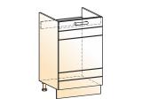 Шкаф рабочий под мойку L500 (1дв.гл.)
