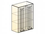 Прованс Шкаф навесной L600 H804 (2 дв. гл.)