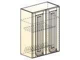 Прованс Шкаф навесной под сушку L600 H804 (2 дв. гл.)