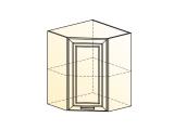 Шкаф навесной угл. L600х600 Н720 (1 дв. гл.)