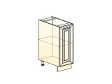 Шкаф рабочий L300 (1 дв. гл.)