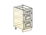 Шкаф рабочий L400 (3 ящ.)