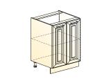 Шкаф рабочий L600 (2 дв. гл.)