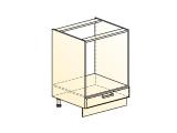 Шкаф рабочий под духовку L600 (1 дв. гл.)