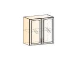 Бергамо Шкаф навесной L800 H720 (2 дв. рам.)
