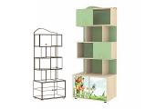Мод.7  Шкаф-стеллаж для книг