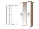 мод.9 Шкаф для одежды 3-х двер (с зеркалом)