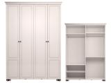 мод.1 Шкаф для одежды 4-х дв (без зеркала)