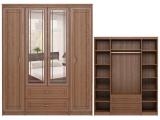 мод.2 Шкаф для одежды 4-х дверный с ящиками