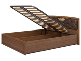 мод.29 Кровать двойная 1600 с п/мех + мягкий элемент