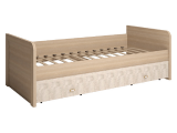 12 Кровать одинарная с ящиками