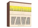 Шкаф-витрина (с сист. плав. закр. дверей) 17.81