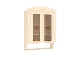 Шкаф-витрина с колоннами 23.15