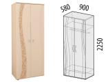 Шкаф двухдверный 98.11