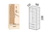 Шкаф для одежды 56.01