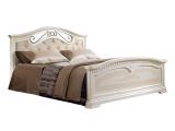 Кровать 1600 с двумя спинками с мяг.эл. (АНКР-4)