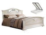 Кровать 1600 с двумя спинками с под/мех. (АНКР-3[3])