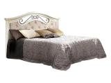 Кровать 1600 с одной спинкой с мяг.эл. (АНКР-2)