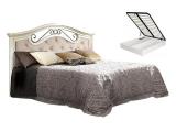 Кровать 1600 с одной спинкой с мяг.эл. с под/мех. (АНКР-2[3])