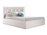 Кровать 1400 с мягким элементом (АМКР140-2)