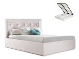 Кровать 1600 с мягким элементом с п/мех (АМКР-2[3])
