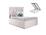 Кровать 900 с мягким элементом с п/мех (АМКР-7[3])