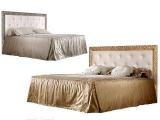 Кровать 2-х спальная (1,4 м) с мяг.эл. со стразами