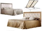Кровать 2-х спальная (1,6 м) с мяг.эл. со стразами, с под/мех