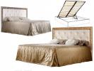 Кровать 2-х спальная (1,8 м) с мяг.эл. с под/мех