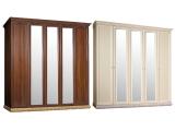 Шкаф 5-х дв. (с зеркалами) для платья и белья