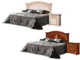Кровать 2-х спальная 1600 (1 спинка шелкография) с под/мех