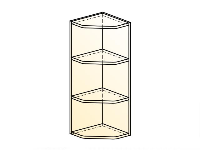 Шкаф навесной концевой L300 H720