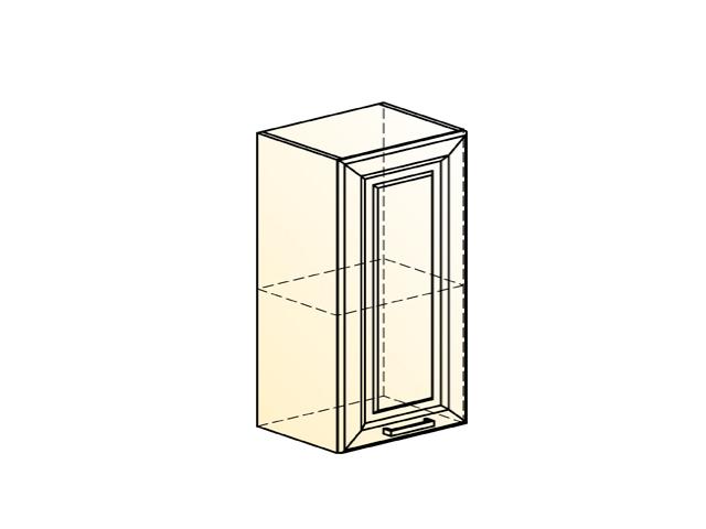 Шкаф навесной L400 Н720 (1 дв. гл.)